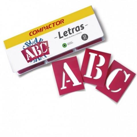 Letras Vazadas ABC Compactor 45mm